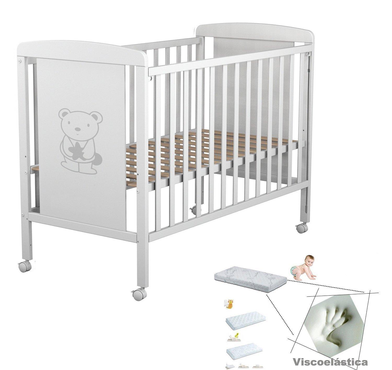 Cuna de beb 3 posiciones de somier todo para los beb s - Cunas trama catalogo ...