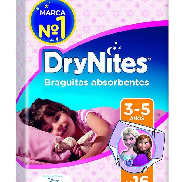 DryNites - Braguitas absorbentes para niñas de 3 - 5 años