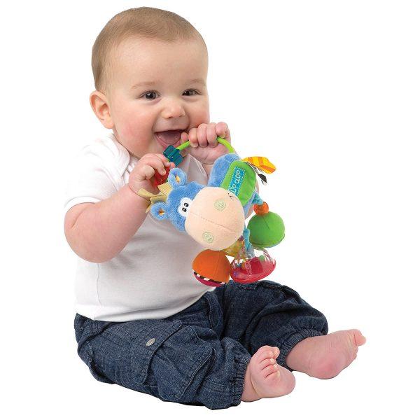 Mordedor para bebé en forma de vaca _1