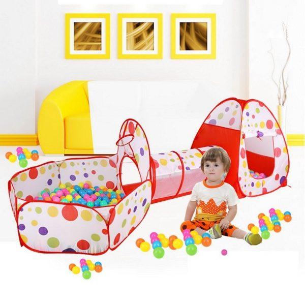 Zona de juegos con tunel para bebés_1