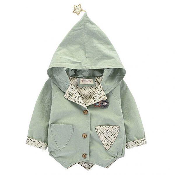 vestido chaqueta para bebe