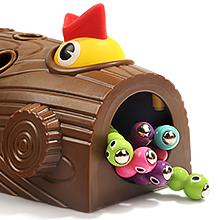 facil almacenar orugas juego juguete top bright nene toys