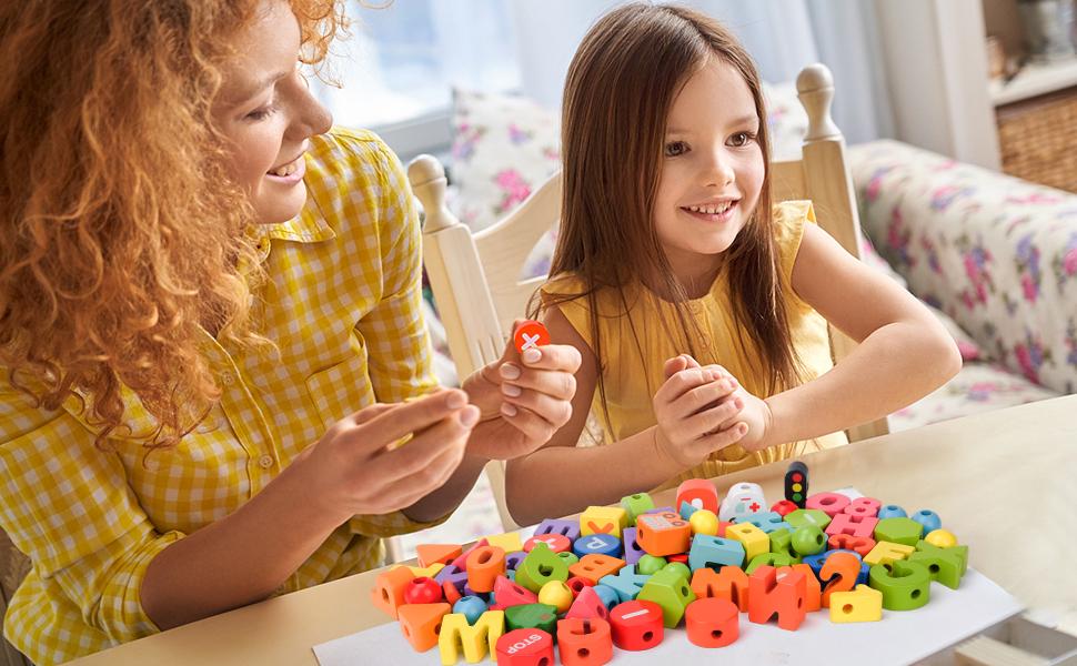 Juegos de madera para pequeños, para niñas, niños, 18 24 36 meses